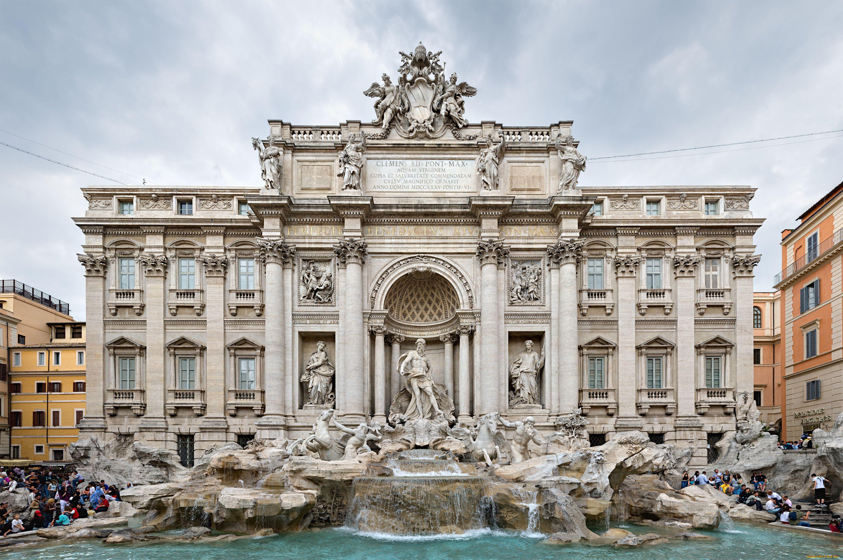 Рим город достопримечательности фото с описанием